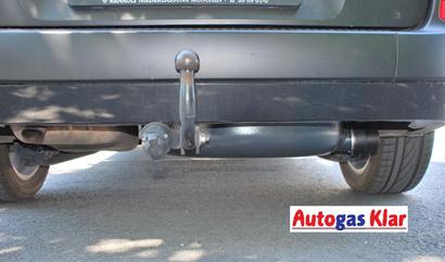 Autogas Klar - Unterflurtank