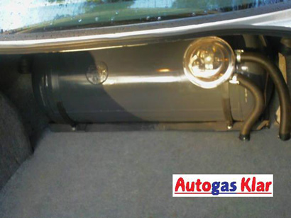 Autogas Klar - Zylindertank (quer)