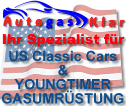 US-Classic Cars und Youngtimer Gasumrüstung